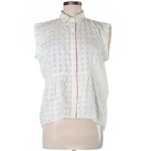 Madewell Rivet & Thread White Gingham Button Down